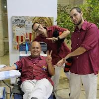Pilar i donació a la Marató de Donació de sang  24-09-14 - IMG_4508.JPG