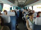 En el autobus para Chauen