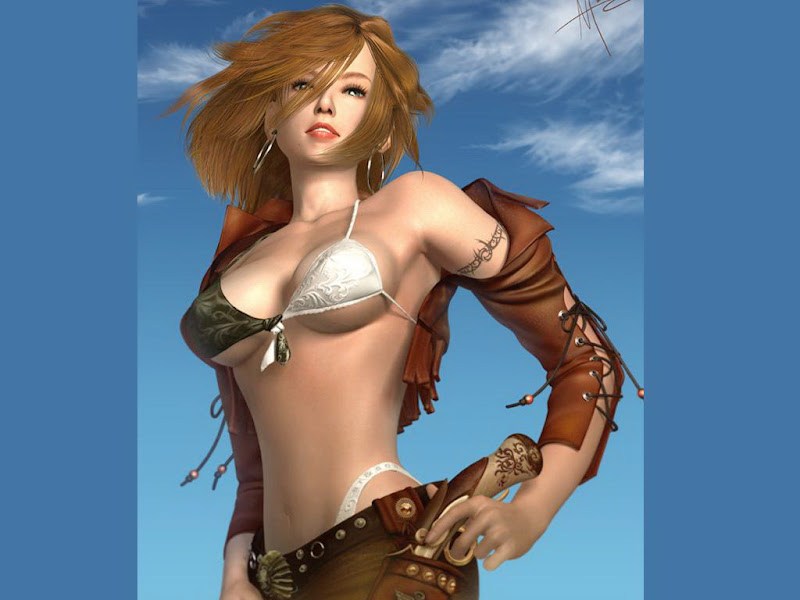 Blue Sky And A Fantasy Girl, Magic Beauties 2