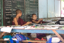 As child protection is a new area in Myanmar social policy, schools don't have any child protection principles or standards. Also communities and families in rural and even urban areas often undermine child protection, safety and health standards. (Photo: