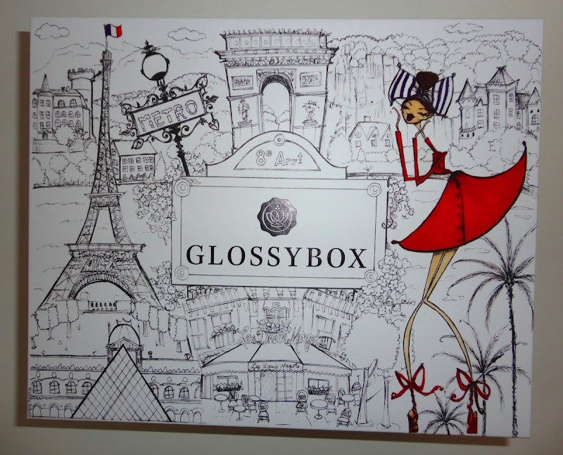 October 2015 glossybox 1