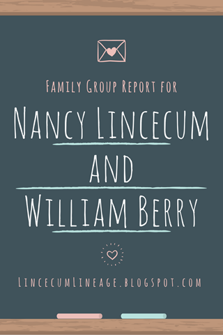 Family Group Report - NLBerry