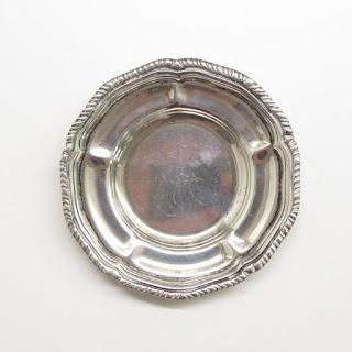 Sterling Silver Heavy Trinket Dish