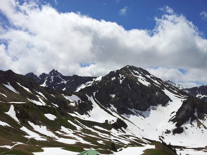Aussicht in den Bergen
