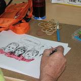 Les dessins de Serdu ont rapporté 500 eur à la Fête à la Vie