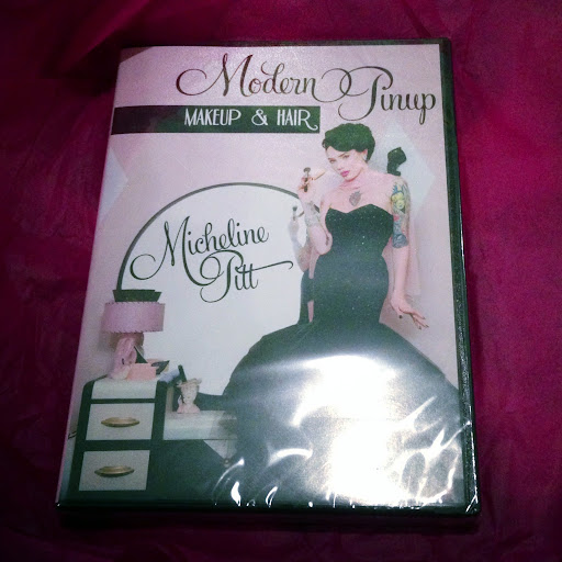 micheline pitt makeup dvd, micheline pitt dvd, micheline pitt dvd review, tongueincheeky shopping diary, tongueincheeky review