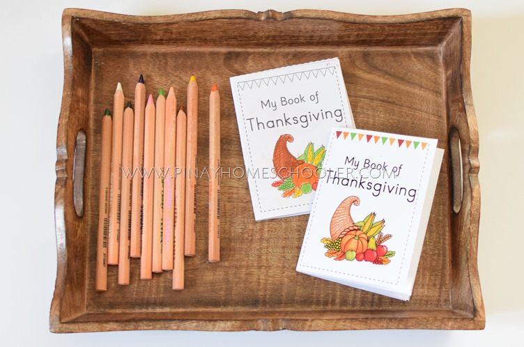 Thanksgiving Themed Booklet