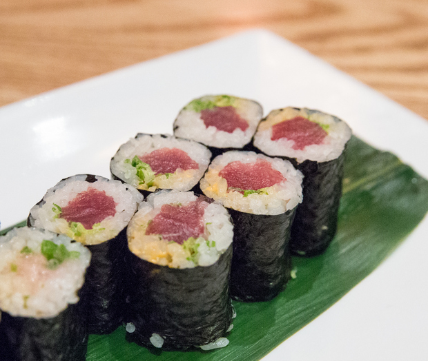 close-up photo of Chef's Choice Sushi Roll