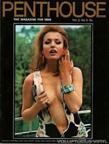Magda Konopka Penthouse Magazine Cover