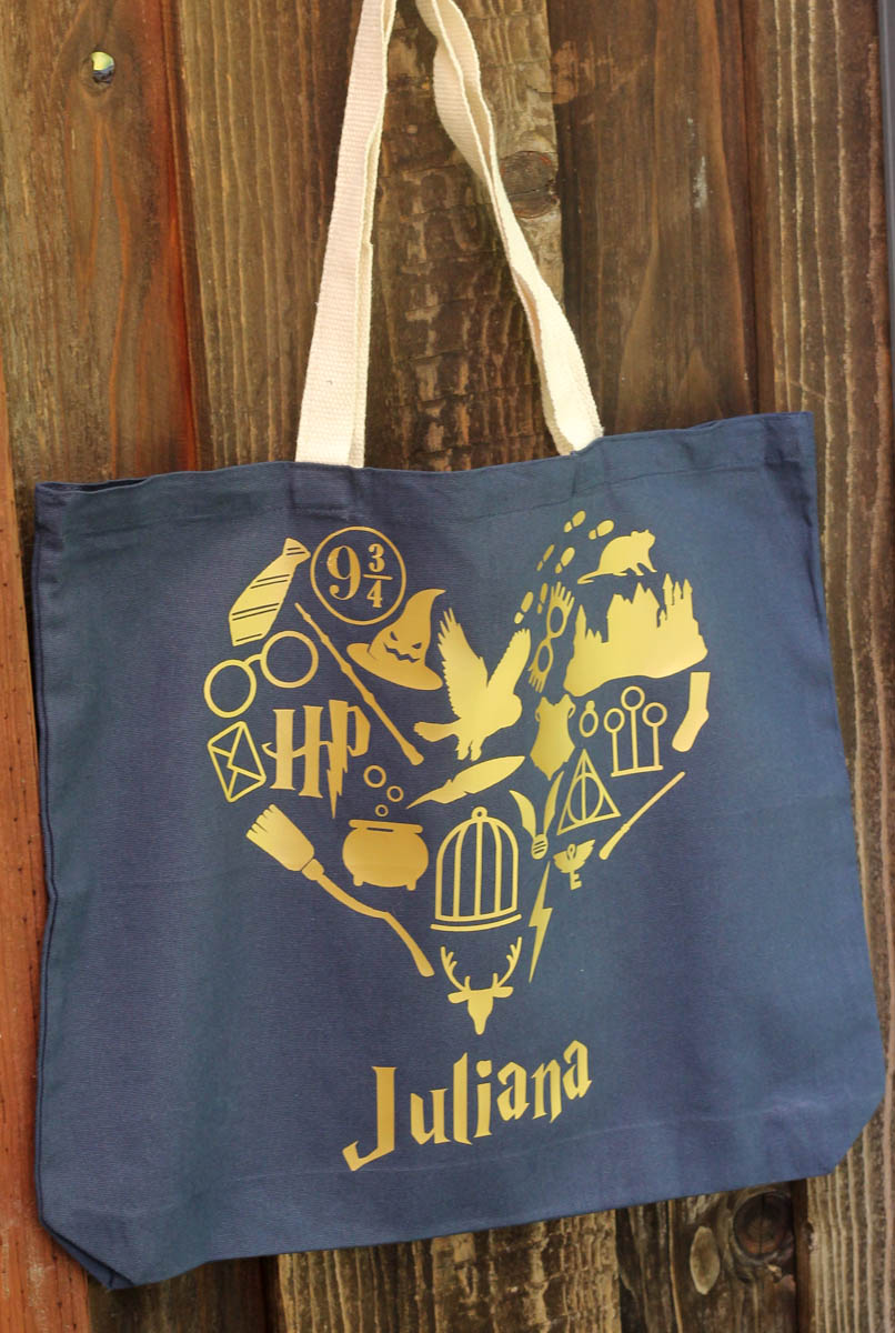 Diy harry potter tote