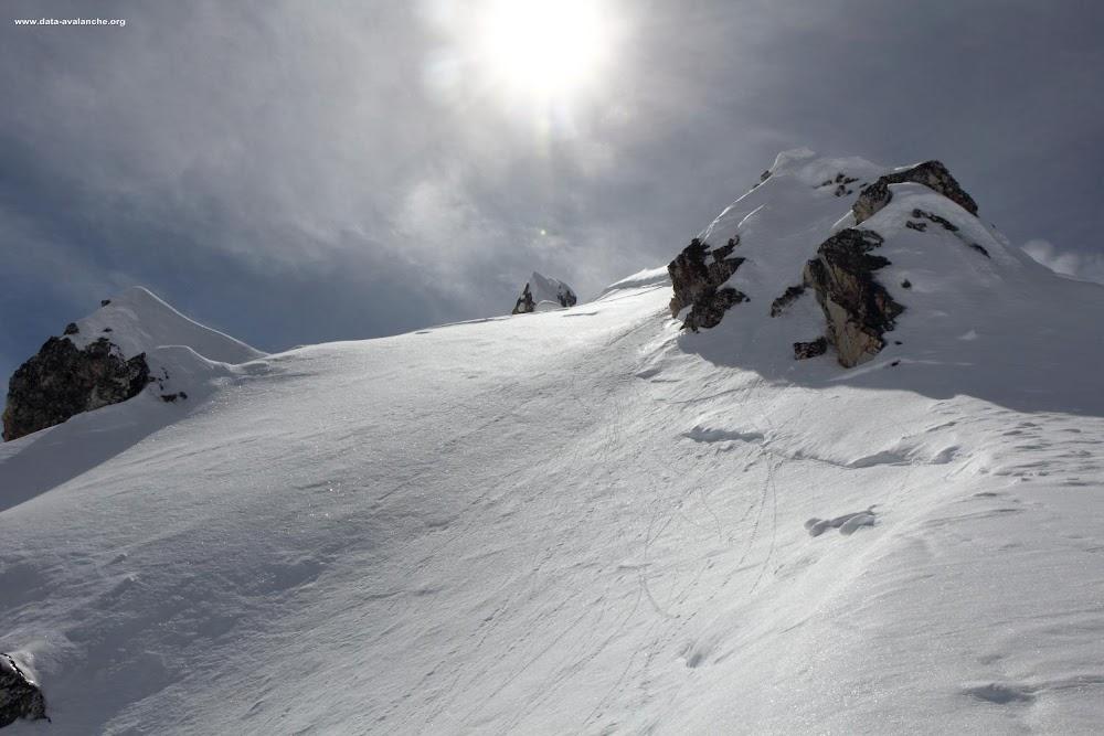 Avalanche Haute Tarentaise, secteur Les Arcs, Aiguille Grive - Roc du Grand renard - Photo 1