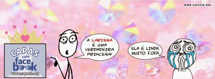 Capas para Facebook Larissa