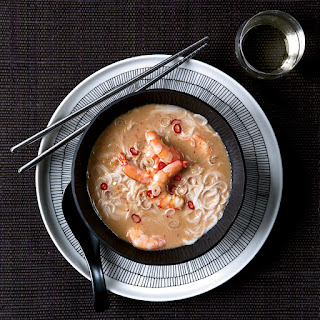 Thai Shrimp-and-Coconut Soup with Lemongrass Recipe