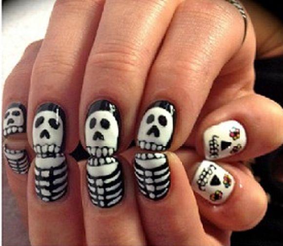 Hot Designs Nail Art Ideas nail art designs Cool Halloween Nail Art Design Ideas Fashion Ce