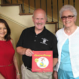 Watermere at Southlake donate childrens books to the Southlake Public Library