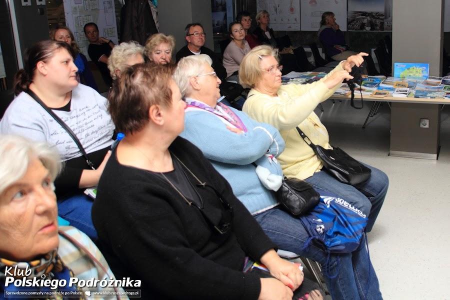 Koniakowskie koronki na prezentacjach Klubu Polskiego Podróżnika