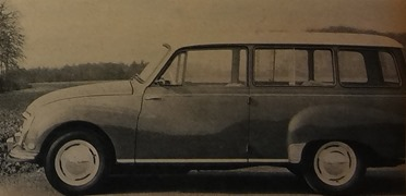 Auto-Unon DKW Universal break 1960