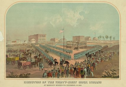 Lincoln's Mass Execution by Hanging