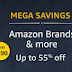 55% off on Amazon Brands in Mega Grocery Sale