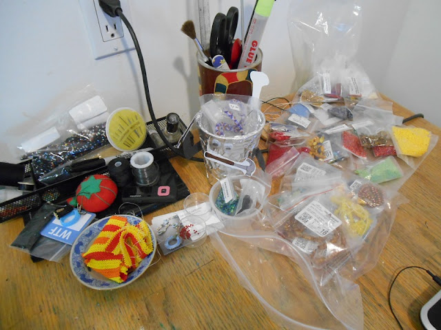 Workspace and Unfiled Beads