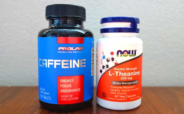 Theanine+caffeine