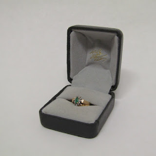14K Gold and Stone Ring