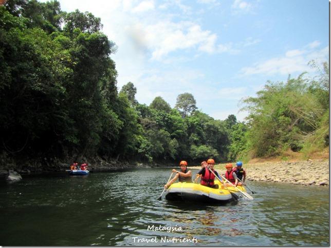 馬來西亞沙巴 九如河泛舟 溜索 (13)