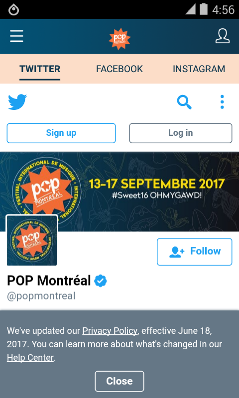 POP Montreal- screenshot