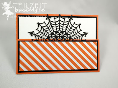 Stampin' Up! - In{k}spire_me #218, Halloween Special, Halloween, Haunt Ya Later, Spinnennetzdeckchen, Spider Net Doilies