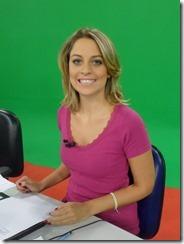 Anita Paschkes, apresentadora Gazeta Esportiva e Mesa Redonda | TV Gazeta