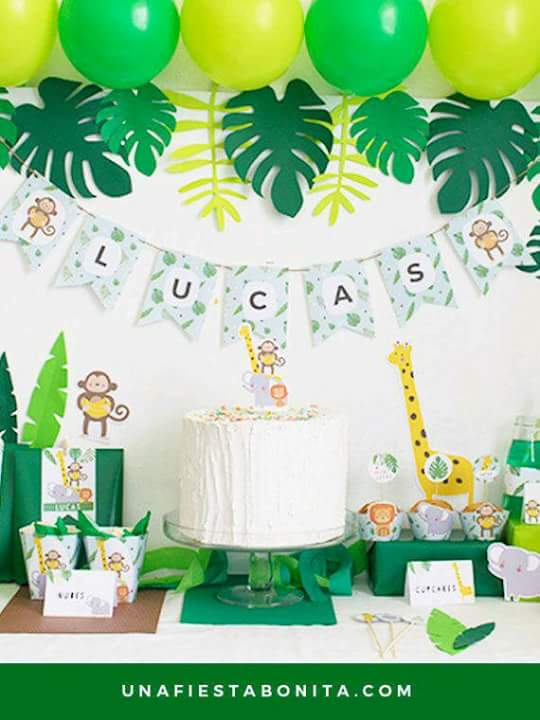 Dinosaur Theme Baby Shower Decorations