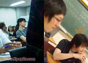 รูป Song Joong Ki ขณะอยู่ในมหาวิทยาลัย Sungkyunkwan