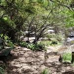 Chair and shade at Katoomba Falls (92224)