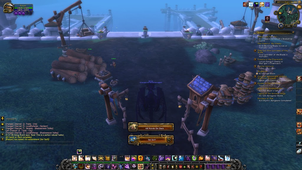 World of Warcraft - Set Sail - Achievement