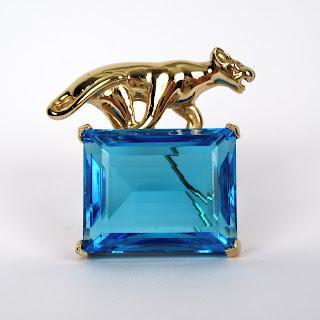 Kule Cougar Stone Pin