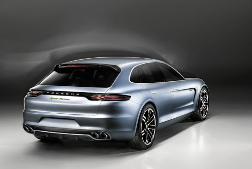 The Porsche Panamera Sport Turismo. Picture: NEWSPRESS