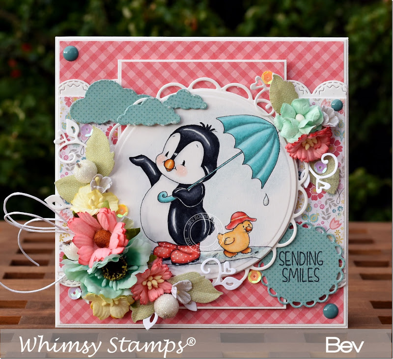 bev-rochester-whimsy-penguins-rainy-day