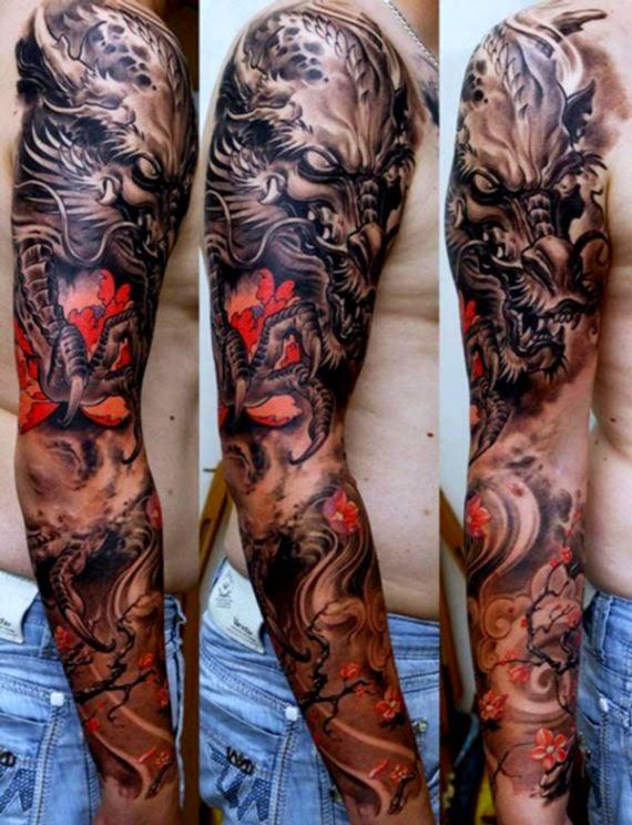 Full Sleeve Tattoos on Pinterest  Religious Tattoo Sleeves