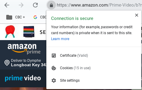 Later version of google chrome required to watch amazon