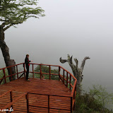 Mirador sem vista, hehehe - Huilo Huilo, Chile