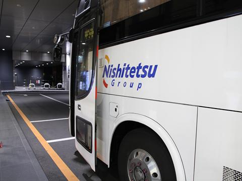 西鉄高速バス「桜島号」夜行便 4012 鹿児島中央駅改札中 その3