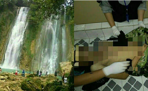 Mahasiswa Indramayu Tewas Tenggelam di Curug Cikaso Sukabumi