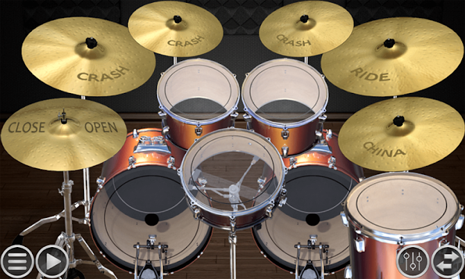 Simple Drums Basic - Realistic Drum App Android 11