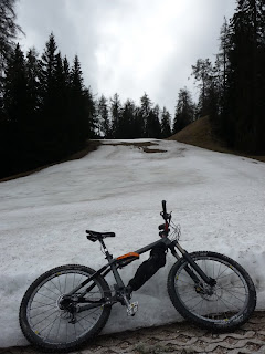 30.4.2012 Weg zum Monte Roen - Mendelsteig zurück