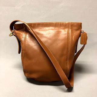 Coach Cognac Leather Bag