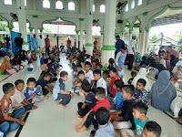 Ratusan Anak Yatim Piatu, Terima Santunan Pada Peringatan Maulid Nabi