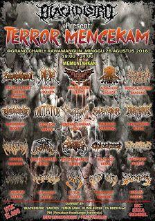 TERROR MENCEKAM - @Jakarta 28 Agustus 2016