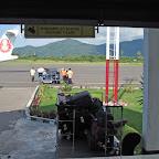 Baggage claim at Labuanbajo airport, Flores