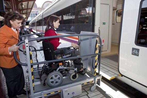 Atendo, la ayuda de Renfe a con discapacidad y movilidad reducida, aumentó 5,2% las asistencias en 2018