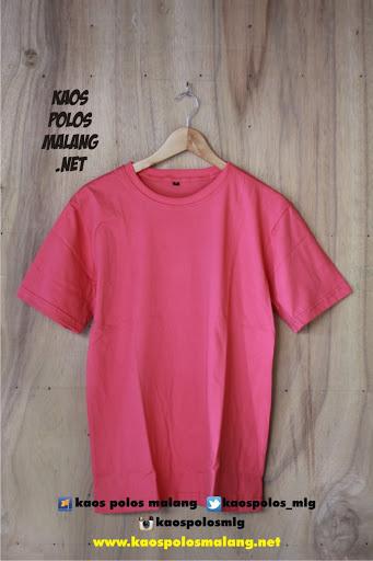 kaos polos cowok pink fanta malang